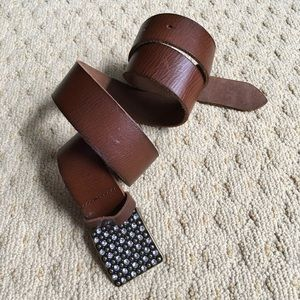 AEO-AMERICAN EAGLE OUTFITTERS- Brown leather Belt
